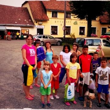 Letní tábor - Prostřední Bečva