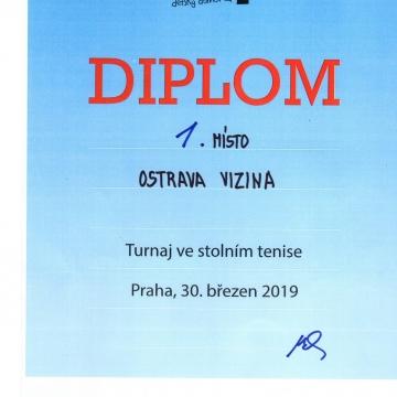 DD CUP 2019 - 1. místo
