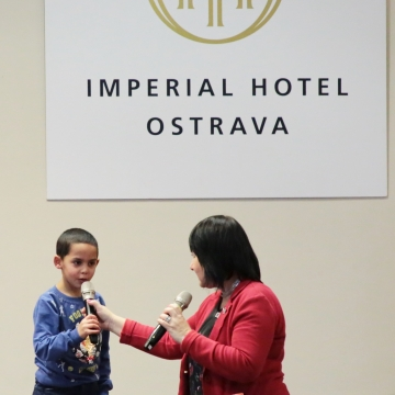 Zábavné odpoledne v hotelu Imperial